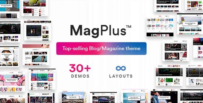 Theme WordPress chuẩn SEO MagPlus